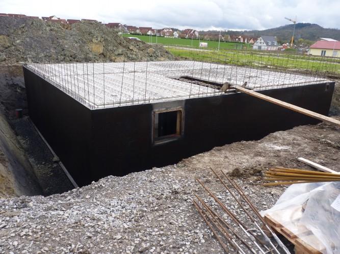 Der Keller nimmt Form an!