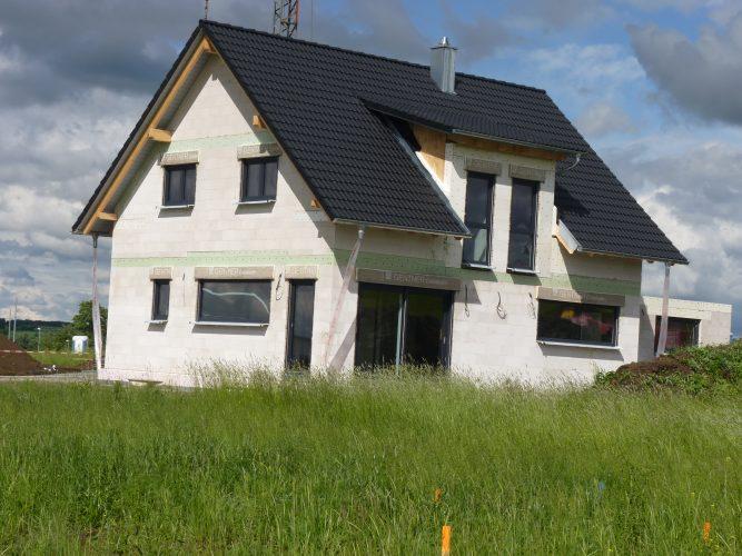 Unser Haus ohne Gerüst